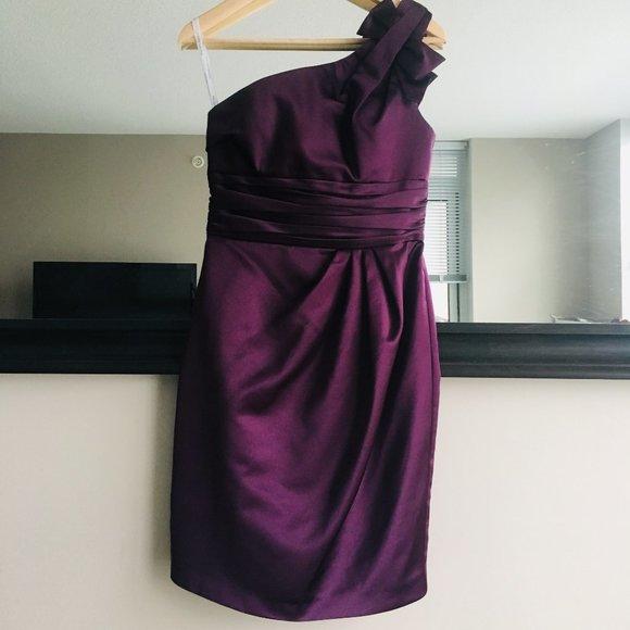 David's Bridal Bridemaid's Dress